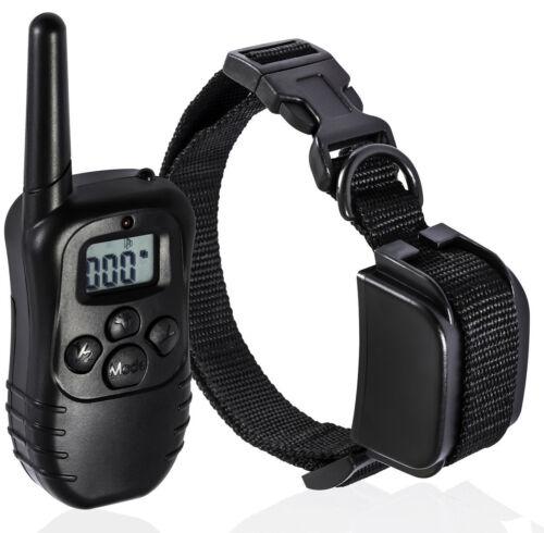 300M Electric Anti-Bark Shock Collar Dog Training Remote Control Anti-Barking 6
