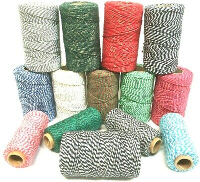 Bakers Twine Craft Christmas Gift Wrapping Cord String 10 , 20 or 30 Metres 4