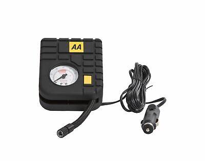 AA 12V Car Tyre Air Compressor Inflator LED Pump Pressure Gauge Cigarette Socket 6