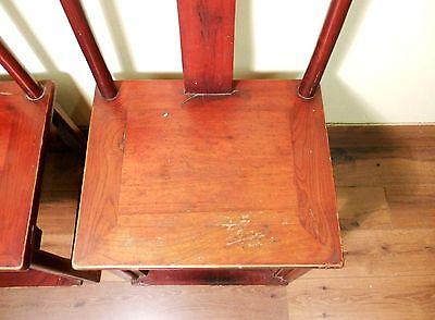 Antique Chinese High Back Chairs (5473) (Pair), Circa 1800-1849 10