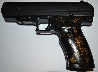 HI POINT JCP-40 JHP-45 pistol grips black with gold speckled plastic