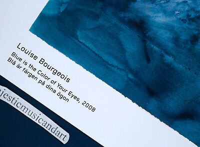 Beautiful Blue Is Louise Bourgeois 2018 Gallery Poster 3