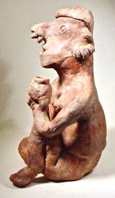 Pre-Columbian Nayarit Couple Ex Sothebys '78 9