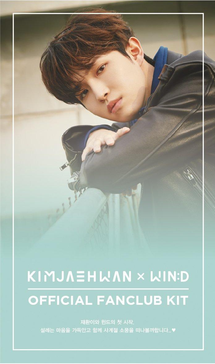 Wanna One Kim Jaehwan x Wind 1st Official Membership Fan Club Kit Kim Jae Hwan 2