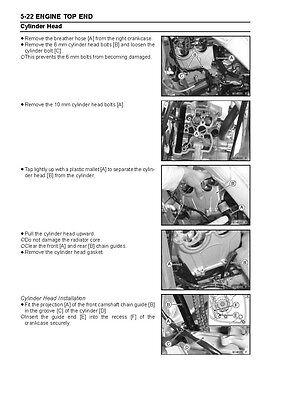 2006 kx250f service manual