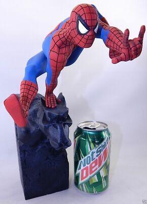 2018 Marvel SpiderMan Sence Jump Ver PVC Action Figure Statue 3D Model Xmas Gift