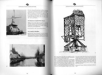Moulins en Hainaut Hannonia  Mühlengeschichte Müller Windmühlen Mühlentechnik 11