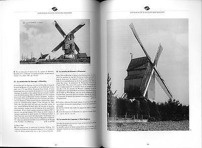 Moulins en Hainaut Hannonia  Mühlengeschichte Müller Windmühlen Mühlentechnik 10