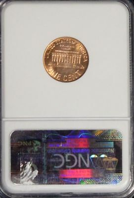 1961 D MS 66 Red NGC Graded Lincoln Memorial Cent 4
