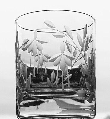 Elegant Hand Cut Crystal Cascade Design Champagne/ Cocktail Glasses 5