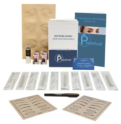 Microblading Starter Kit Permanent Makeup with Doreme Ink Microblades U Choose 3