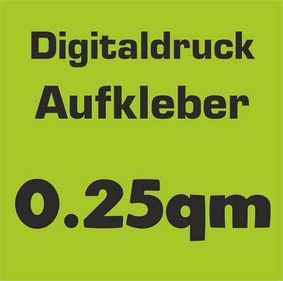 100 Stück 5x5cm Digitaldruck Aufkleber Wunschdruck drucken Folie Sticker Label
