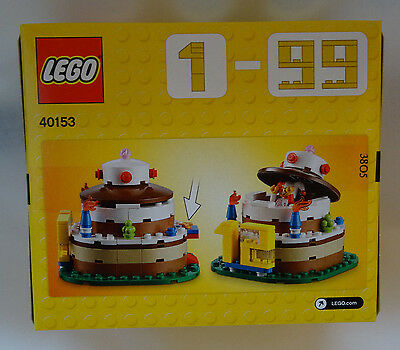 Lego Set 40153 Birthday Cake Party Table Decoration Jester Pop Up Surprise Clown 2