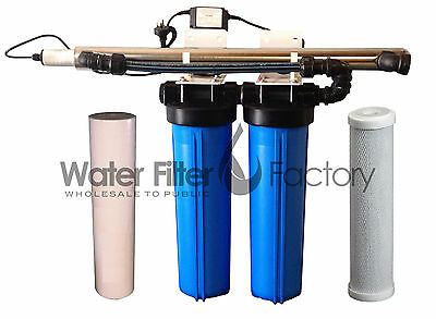 24v DC RO Water Filter Pumps | Reverse Osmosis 125psi Booster Pump + Transformer