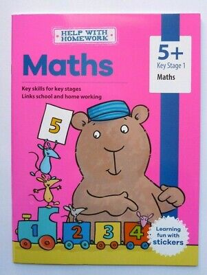 KS1 Help With Home Work Set of 8 Educational Workbooks Ages 5+ Spelling Maths 5