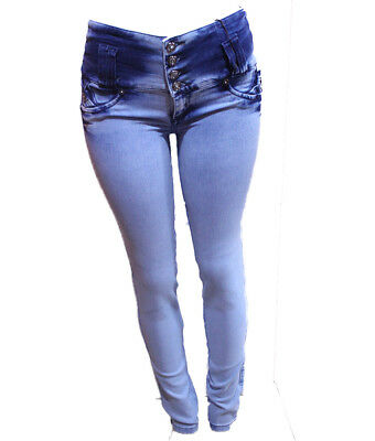 Original Made in Colombia Verox push up white color stretch  skinny jeans