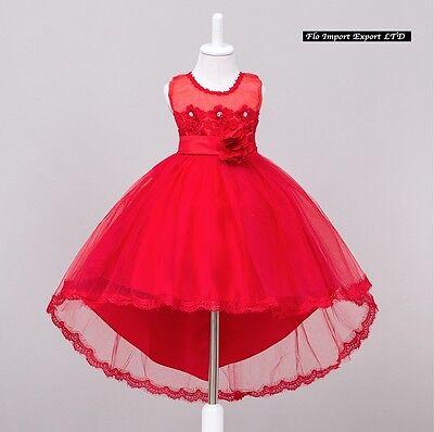 ... Vestito Bambina Abito Cerimonia Feste Elegante Girl Party Princess Dress  CDR058 10 87280fe4b82