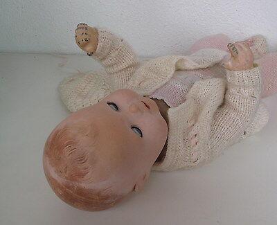 Rarität  *antike Armand Marseille Puppe mit Stoffkörper AM 2542 4/7 K