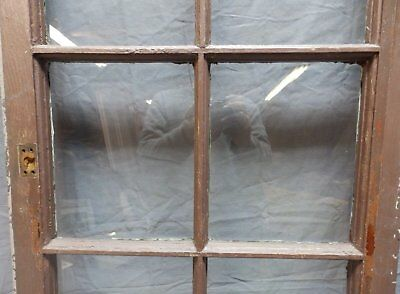 Antique 6 Lite Window Sash 35x20 Casement Sunroom Architectural Old Vtg 625-18P 3