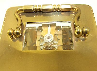 Wonderful Swiss Brass Carriage Clock : MATTHEW NORMAN LONDON SWISS MADE 6 • EUR 410,33