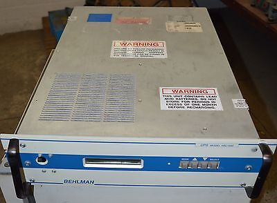 Behlman UPS - Unterbrecherfreie Stromversorgung (Uninterruptible Power Supplies) 2