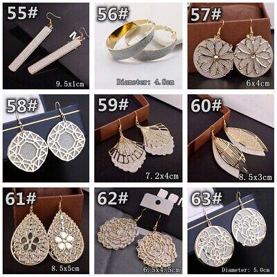 HOT Women Lady Hook Dangle Drop Fashion Earrings Ear Stud Wedding Jewelry Gift 8