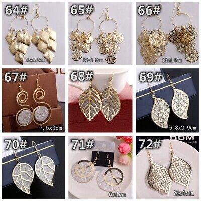 HOT Women Lady Hook Dangle Drop Fashion Earrings Ear Stud Wedding Jewelry Gift 9