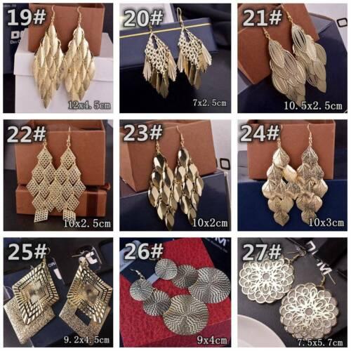 HOT Women Lady Hook Dangle Drop Fashion Earrings Ear Stud Wedding Jewelry Gift 4