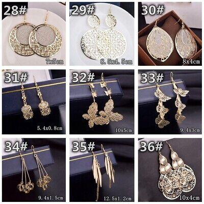 HOT Women Lady Hook Dangle Drop Fashion Earrings Ear Stud Wedding Jewelry Gift 5
