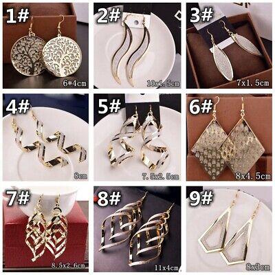 HOT Women Lady Hook Dangle Drop Fashion Earrings Ear Stud Wedding Jewelry Gift 2