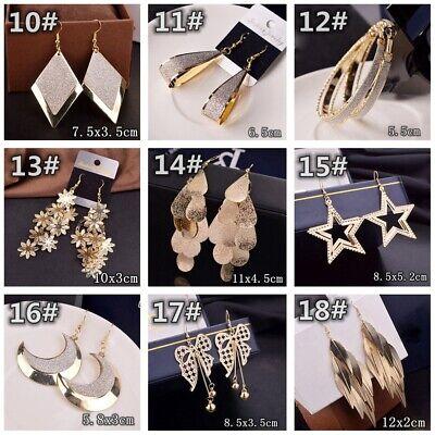 HOT Women Lady Hook Dangle Drop Fashion Earrings Ear Stud Wedding Jewelry Gift 3