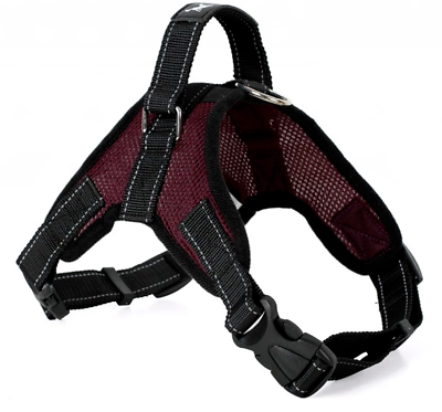Pet Control Harness for Dog Soft Mesh Walk Large Small Medium XXL Pink Red Black 6