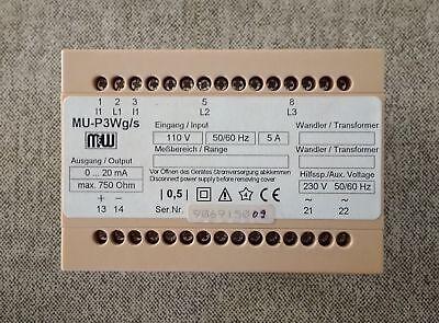 M&W - Electrical Transducers - MU-P3Wg/s / NEW 4