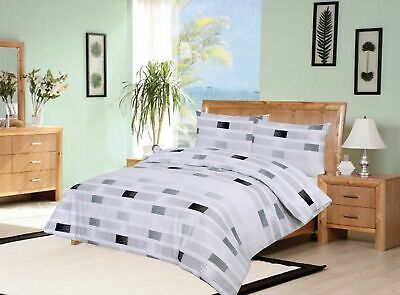 Luxury 100% Egyptian Cotton Printed Duvet Cover Sets Bedding Sets All Sizes 7