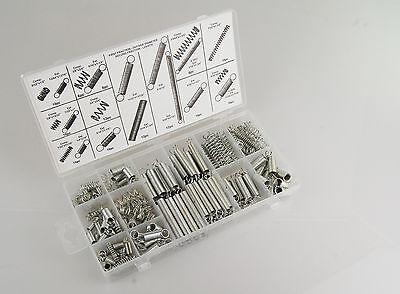 Federn Set, 200 Stück im Set Zugfedern und Druckfedern viele Größen von Tifler