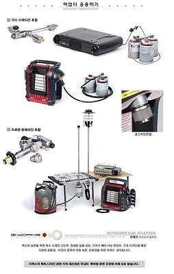 G WORKS EPI Gas Adapter Converts Use Lindal Valve Canister Gas for Propane  Gas