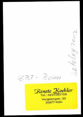 Renate Koehler Autogrammkarte Original Signiert ## BC 22638