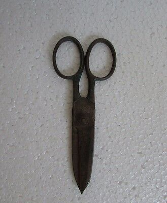 Vintage old Iron Handcrafted Unique shape Scissor collectible