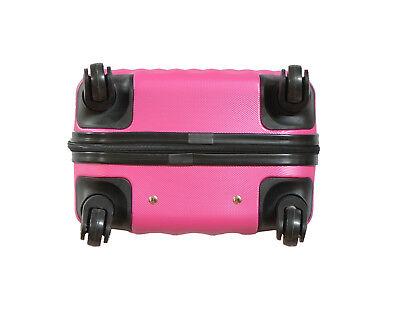 Maleta pequeña de cabina rígida rombo 4 ruedas Low cost equipaje de mano viaje 4