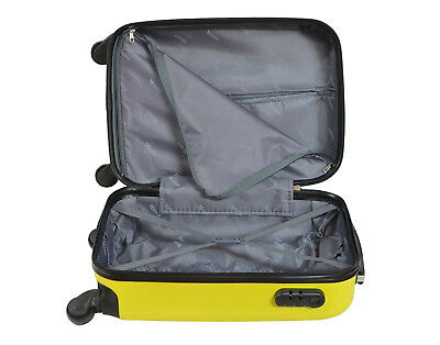 Maleta pequeña de cabina rígida rombo 4 ruedas Low cost equipaje de mano viaje 2