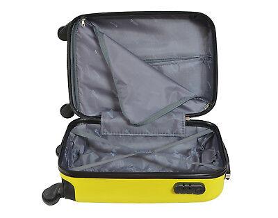 Maleta pequeña para cabina rígida rombo 4 ruedas 360º Low cost equipaje de mano 2