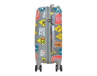 Maleta pequeña de cabina rígida de 4 ruedas fantasia varios equipaje mano viaje 2