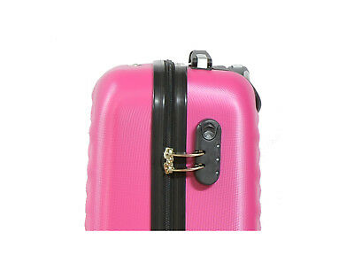 Maleta pequeña de cabina rígida rombo 4 ruedas Low cost equipaje de mano viaje 3