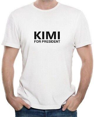 KIMI FOR PRESIDENT - F1 Formula 1 Kimi Raikkonen - Mens Womens Kids T-Shirt 10