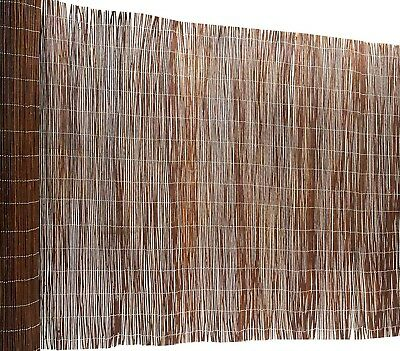 W x 3m H Privacy Blockout Round Bamboo Screen Fencing Roll Fence 1.8M