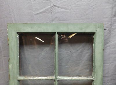 Antique 6 Lite Window Sash 35x20 Casement Sunroom Architectural Old Vtg 625-18P 7
