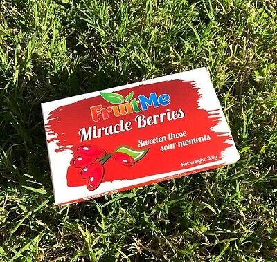 Fruit Me™ Miracle Fruit Berries 10 Pack | Turns Sour Into Sweet *MIND BLOWING* 4