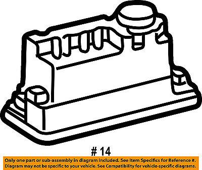 MERCEDES OEM 01-04 SLK230 Trunk Lid-Vacuum Pump 1708000848 on