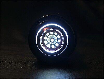 New Custom Lightsaber Blade Plug Mechanical Design Silver Multi Ring Glow Core 4