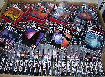 5 Kassetten Die drei Fragezeichen ??? MC 1 - 120  auswählen Konvolut 3